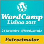 WordCamp Lisboa 2011 - Patrocinador!