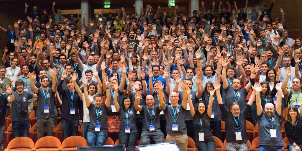 WordCamp Lisboa 2017 - foto de família